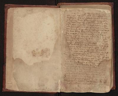 Een beginbladzijde ut het handschrift (folio 2, recto)