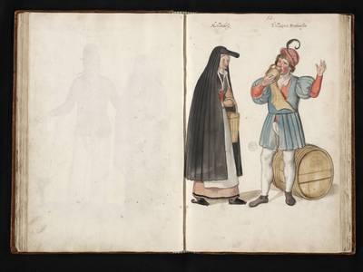 Een Hollandse vrouw en Brabantse man
