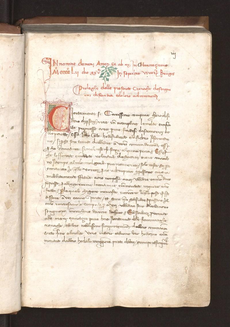Cronache de singniori di Fiandra e de loro advenimenti [Ms. 685]