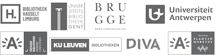 Logo's van de partners van Flandrica.be